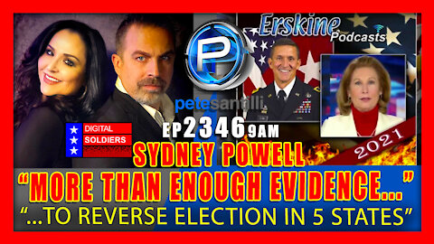 EP 2346-9AM SYDNEY POWELL: More Than Enough Evidence To Reverse Election In 5 States