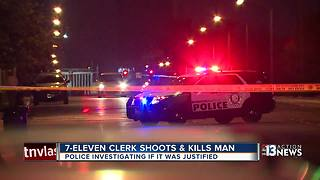 Police investigating whether 7-Eleven shooting was justified - Video