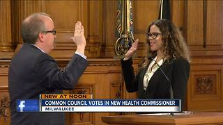Common Council votes in new health commissioner - Video