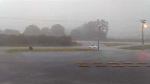 Severe Storms, Possible Tornado Causes Flooding in Spartanburg