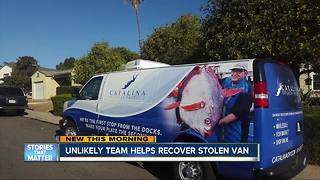 Facebook post helps caterer recover stolen van - Video