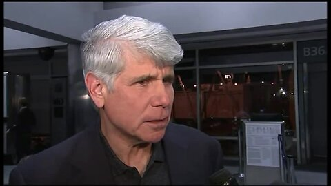 Former Illinois Gov. Blagojevich speaks at DIA after he was released from federal prison in Colorado