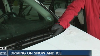 Driving on snow and ice - Video