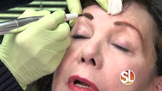 Dreaming of perfect eyebrows? Sally Hayes offers 3 decades of experience with permanent makeup!