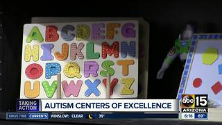 Autism 'center of excellence' opens in Phoenix - Video