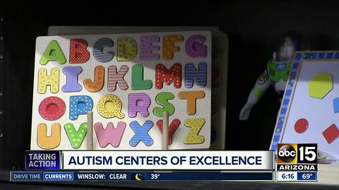 Autism 'center of excellence' opens in Phoenix