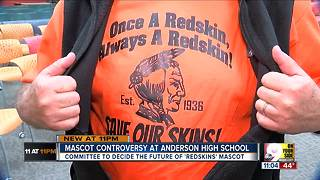Mascot controversy at Anderson High School