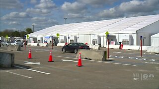 Last day of first doses at South Florida Fairgrounds vaccination site