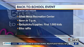 North Las Vegas back-to-school event