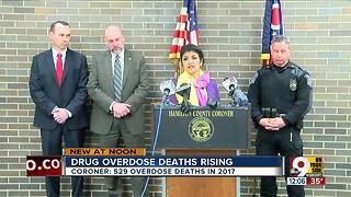 Drug overdose deaths rise in Hamilton County