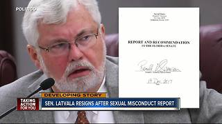 Jack Latvala resigns from FL Senate after investigation finds credible evidence of sexual misconduct - Video