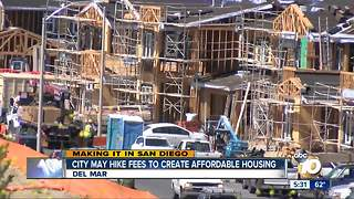 Making It In San Diego: Del Mar may hike fees to create affordable housing - Video