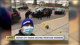 Motor City Masks helping frontline workers