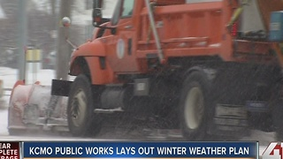 KCMO Public Works lays out winter weather plan - Video