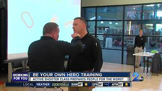 Be your own hero training - Video