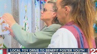 Local toy drive to benefit foster youth - Video