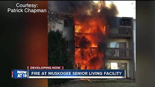 30 people displaced after Muskogee apartment fire - Video