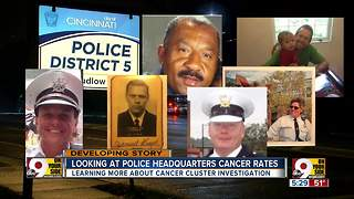 Proving cancer cluster at Cincinnati Police District Five could be challenging, expert says - Video