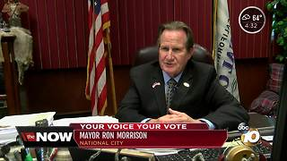 National City mayor wants term limits reset - Video