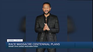 John Legend headlining Tulsa Race Massacre event on 100-year anniversary