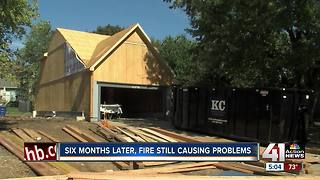 OP fire victims still rebuilding 6 months later - Video