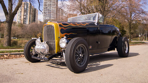 1932 'Dragon' Hot Rod Reaches Speeds Of 140mph | RIDICULOUS RIDES