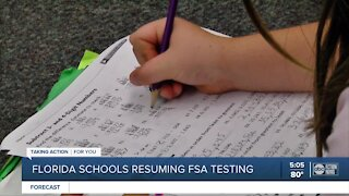 Concerns grow over in-person state testing in Florida schools amid COVID-19