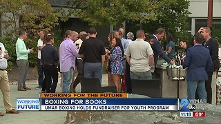 Boxing for Books: Umar Boxing holds fundraiser for youth program