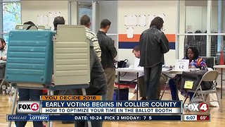 Early voting begins in Collier County