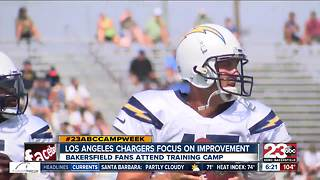 23ABC Camp Week: Chargers fighting for relevance in LA - Video