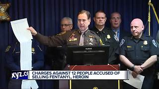 Gang charged in selling fentanyl and heroin - Video