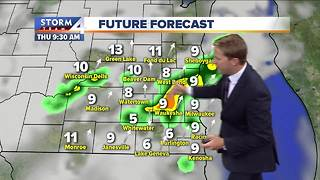 Wednesday morning Storm Team 4cast - Video