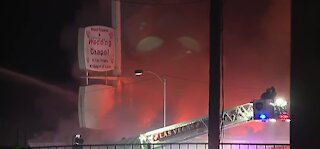 Another body found in former Las Vegas wedding chapel that burned in January