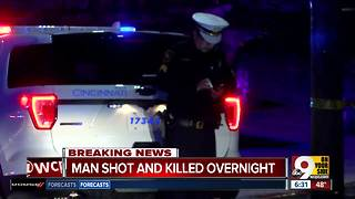 Man found shot dead in Clifton Heights parking lot - Video