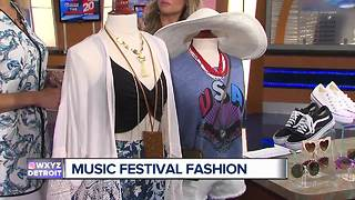 Looking Fun and Fashionable at Music Festivals - Video