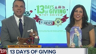13 Days of Giving on Action News at Midday on Dec. 1 - Video