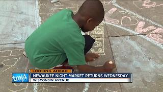 NEWaukee Night Market returns Wednesday to Wisconsin Avenue