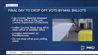 Where to drop off your mail in ballot