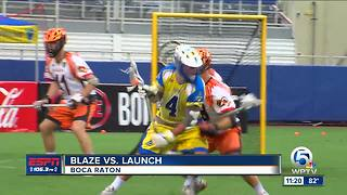Blaze defeat Launch - Video
