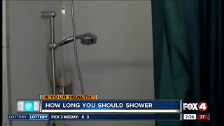 How long should you shower?
