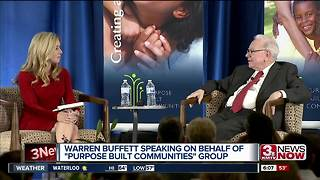 Warren Buffett speaks at conference in Omaha - Video