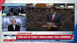 Day 3 Of Trump's Impeachment Trial is Underway