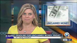 More than $125K in unclaimed cash in St. Lucie County - Video