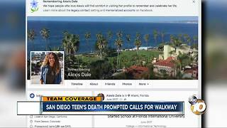 San Diego teen's death prompted calls for walkway