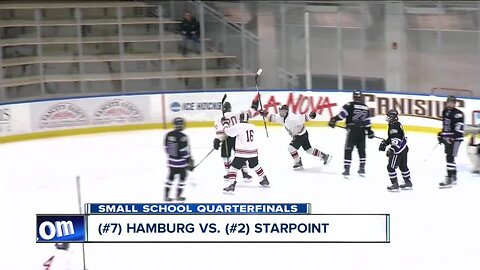 Starpoint, Will South advance to boys' hockey semi-finals