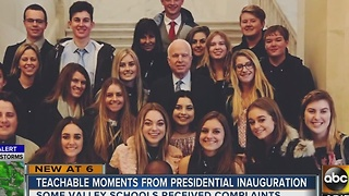 Inauguration Day in Valley classrooms - Video