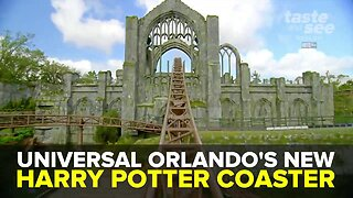 New Harry Potter roller coaster opens at Universal Studios Orlando | Taste and See Tampa Bay