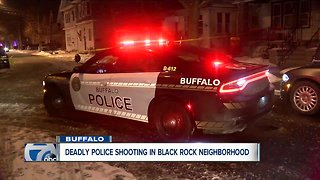 Suspect dead after officer-involved shooting in Buffalo