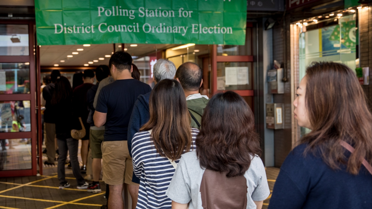 Pro-Democracy Lawmakers Score Big In Hong Kong Election