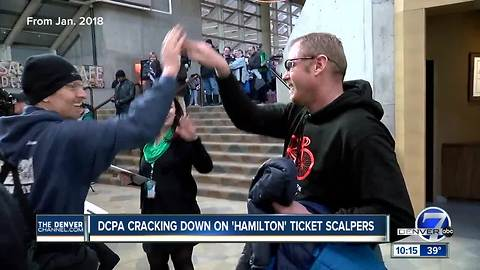 Hundreds of Hamilton tickets back up for sale after DCPA keeps promise to crackdown on scalpers